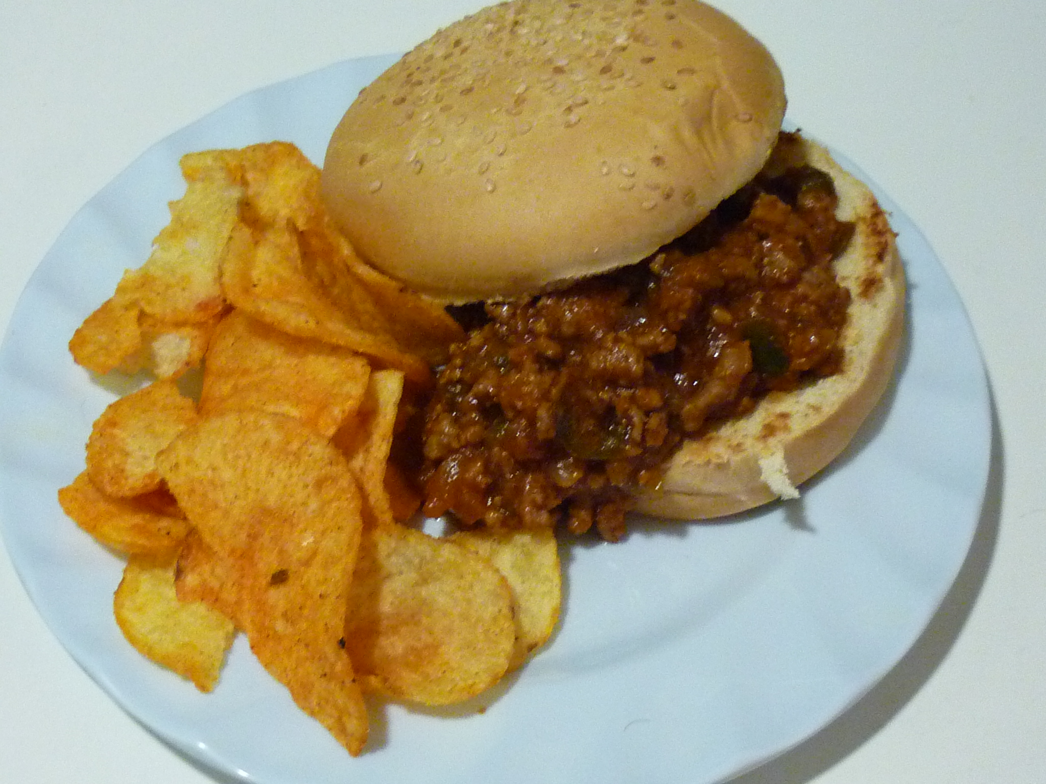 Have some more sloppy joes i made 'em extra sloppy for yous