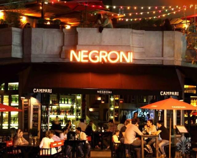 Negroni bar