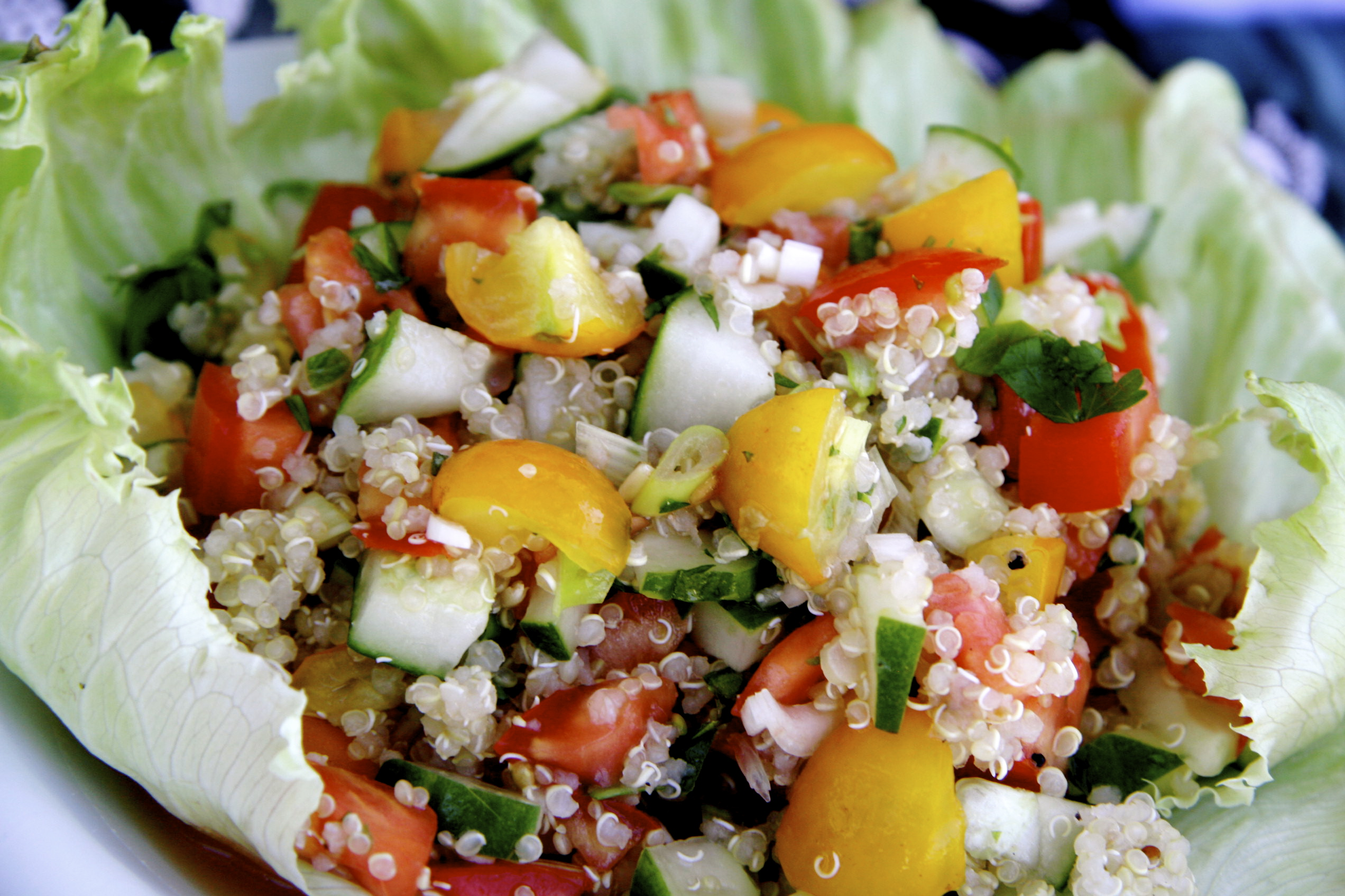 Tropical Spicy Quinoa Tabbouleh Recipe - Pick Up The Fork